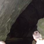 Intrare pestera Pocinova-Clisura Dunarii-vazuta din salupa